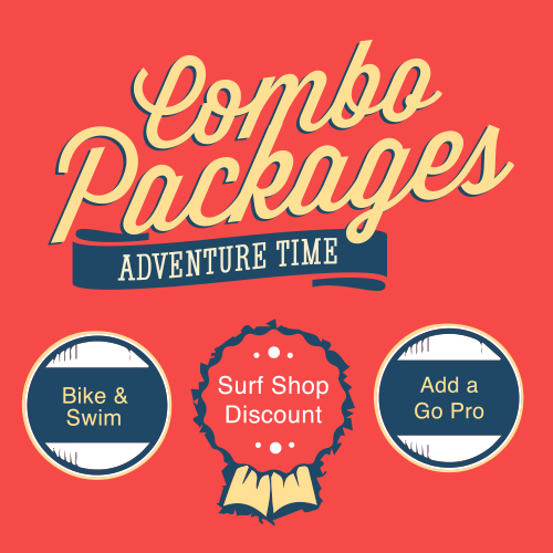 Combo Packages - Bike and Swim Packages