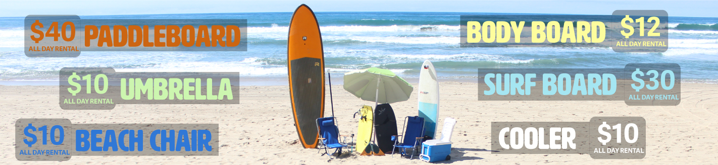SUP surfboards beach gear