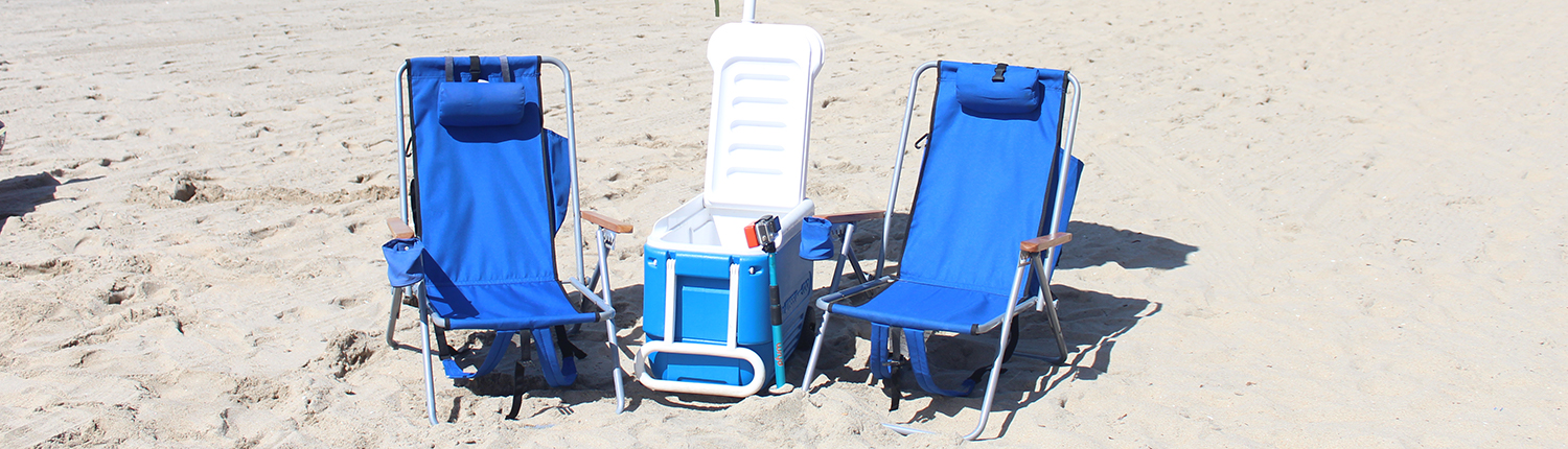 beach chair cooler