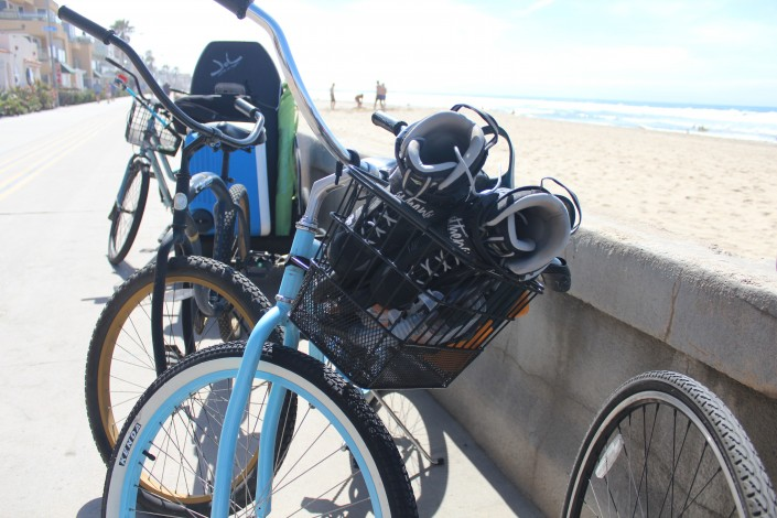 bike basket inline snorkel gear