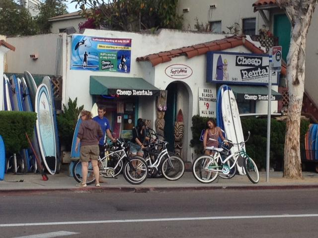 San Diego Bike Cruiser Rental