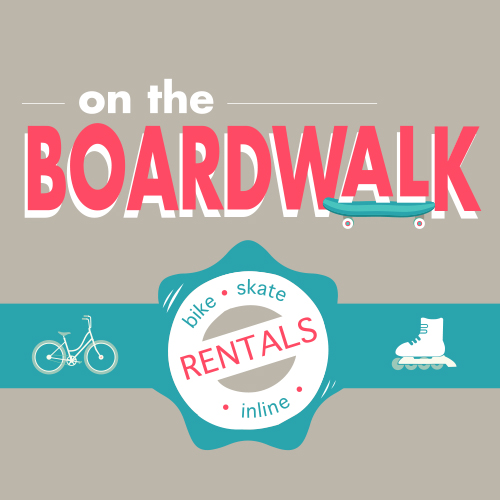 Bike, Skateboaed, & In-line Skate Rentals